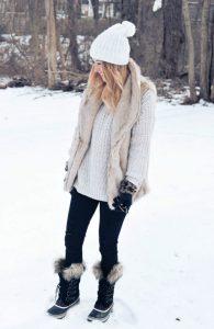 stylizacja zimowa